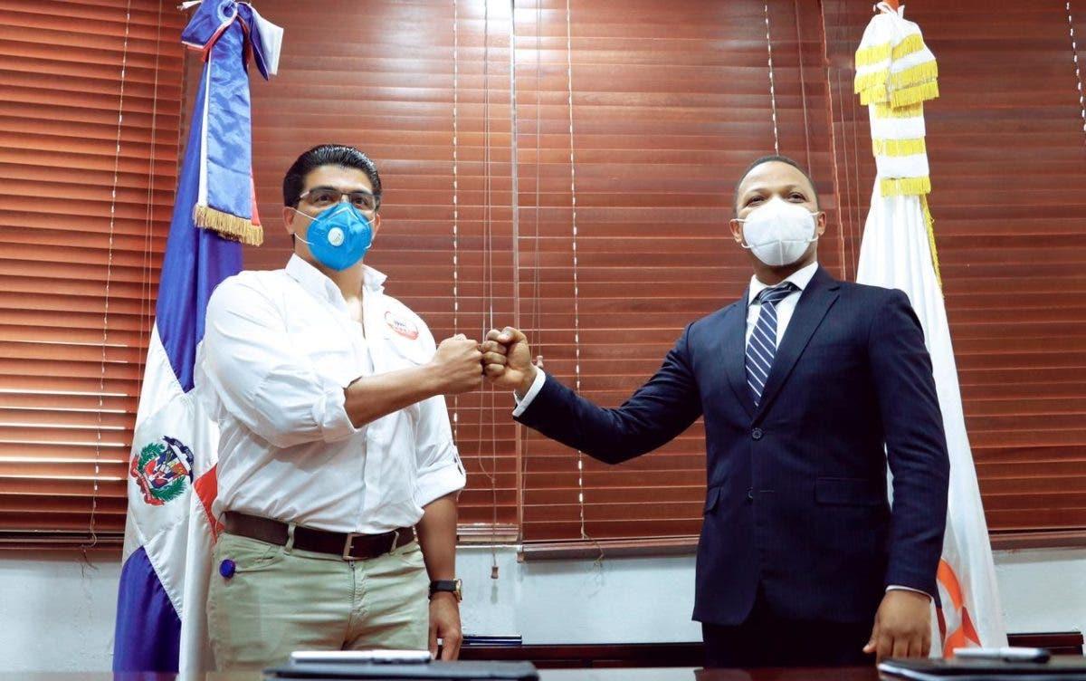 La CAASD y Edesur firman acuerdo que garantizará bombeo de agua potable