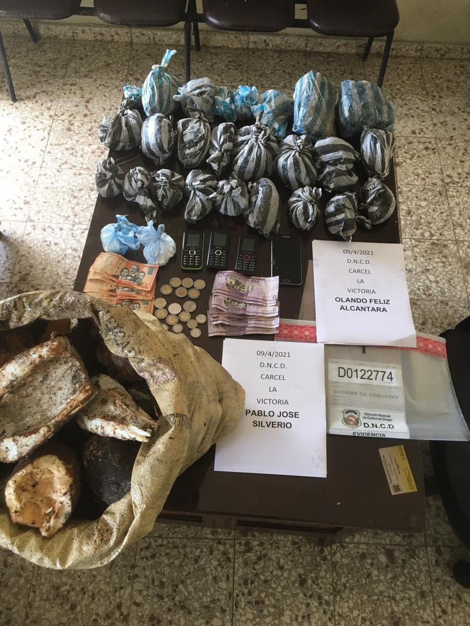 Capturadas dos personas al tratar de introducir productos agrícolas rellenos de drogas a la cárcel de La Victoria