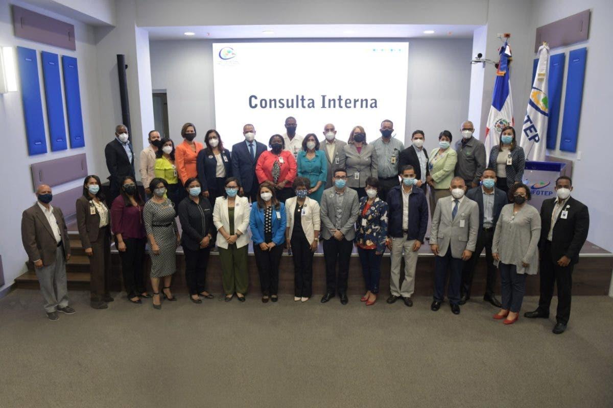 Infotep abre proceso interno para  Consulta Nacional con taller al personal técnico