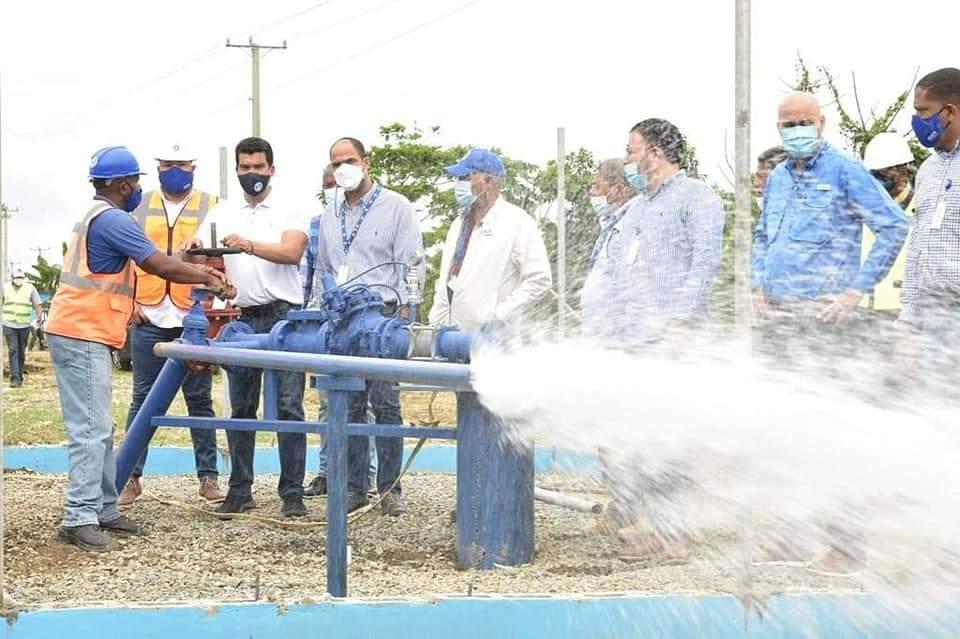 Inapa aumenta producción de agua en Haina y Nigua luego de 40 años con un servicio deficiente