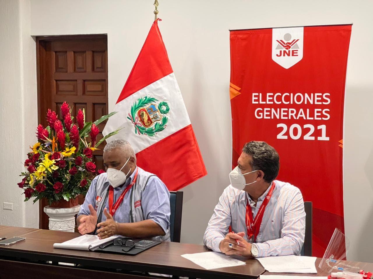 Presidente del TSE preside reunión de evaluación de las elecciones en Perú