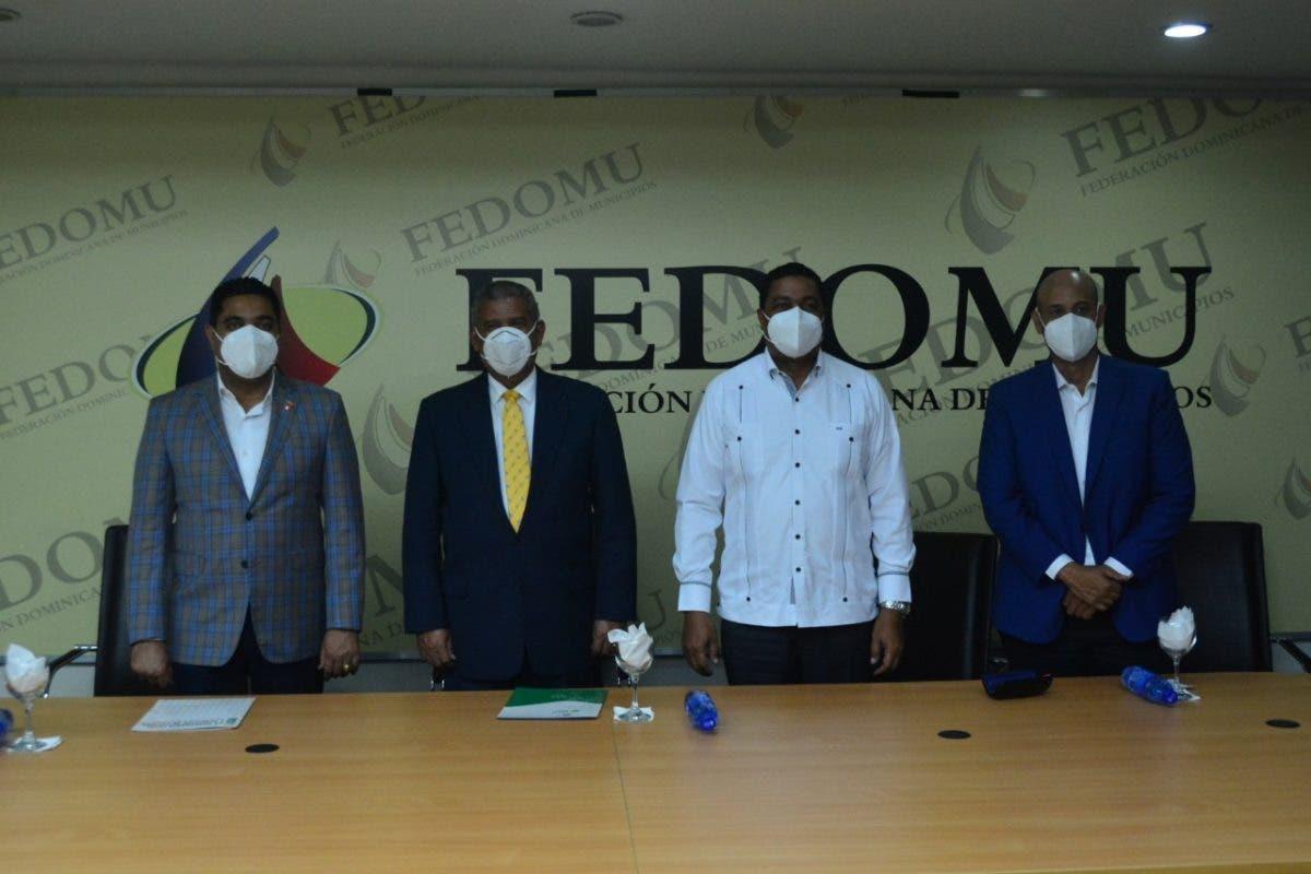 MAP, LMD y FEDOMU impulsarán acciones para fortalecer sector municipal