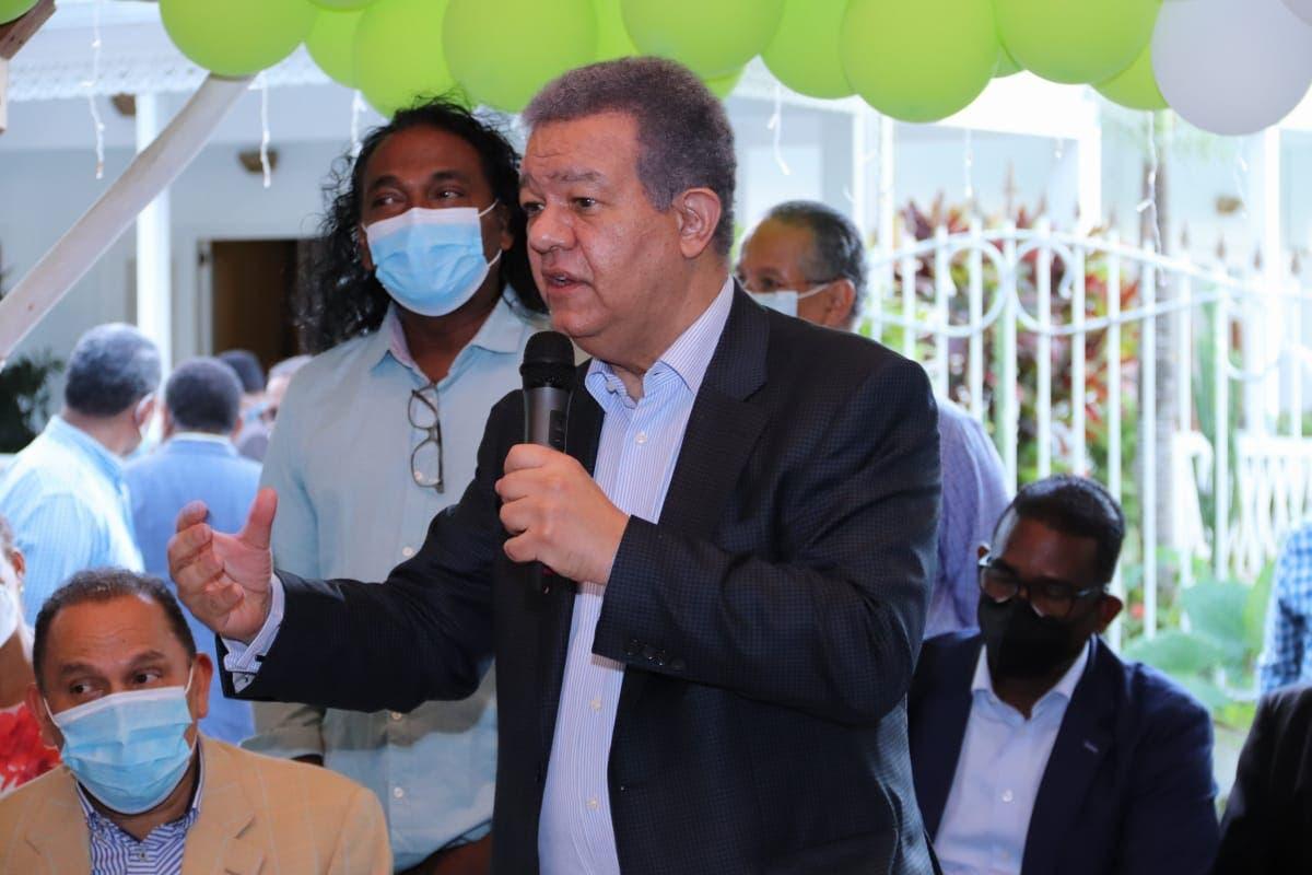 Leonel: «Cada dominicano debe tener el derecho y oportunidad de prosperar»