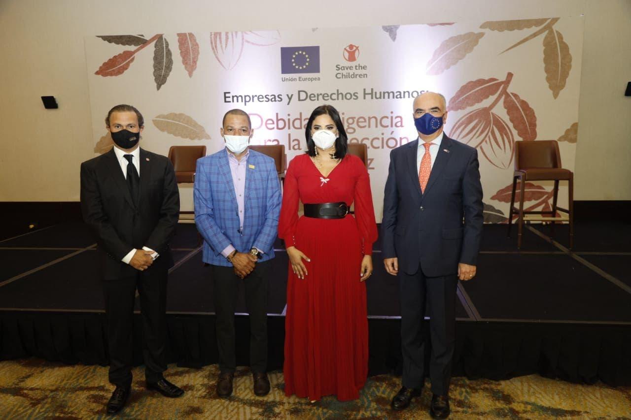 Save the Children y la Unión Europea movilizan al sector privado dominicano a favor de la niñez