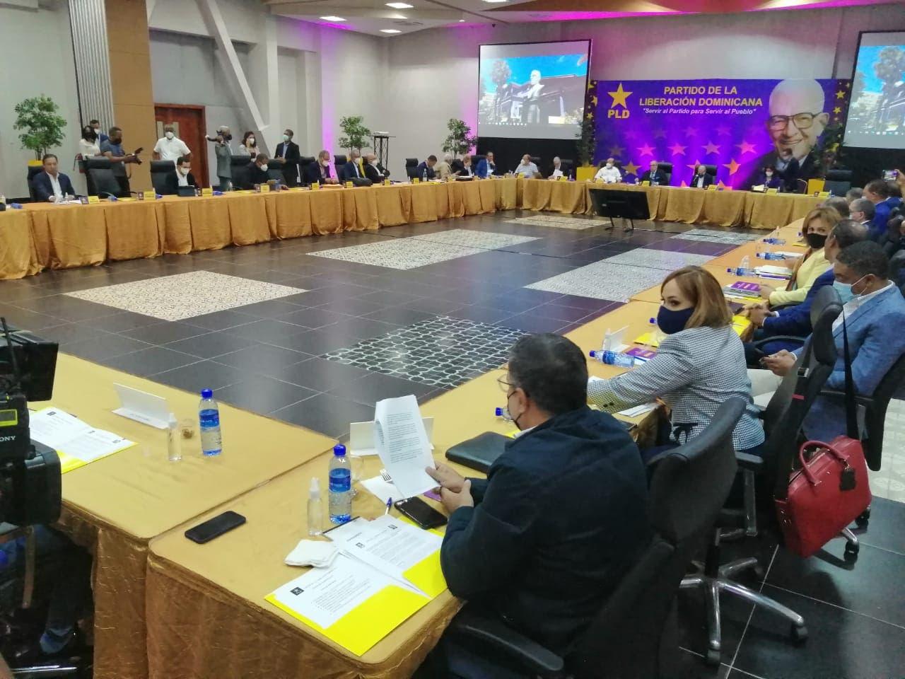 Comité Político del PLD está reunido