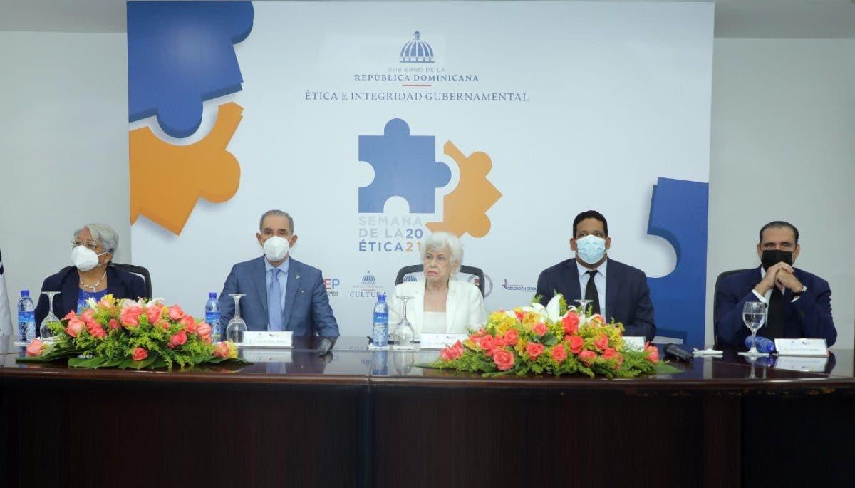 Anuncian cambios para garantizar la ética en el Estado durante lanzamiento de la Semana de la Ética Ciudadana 2021