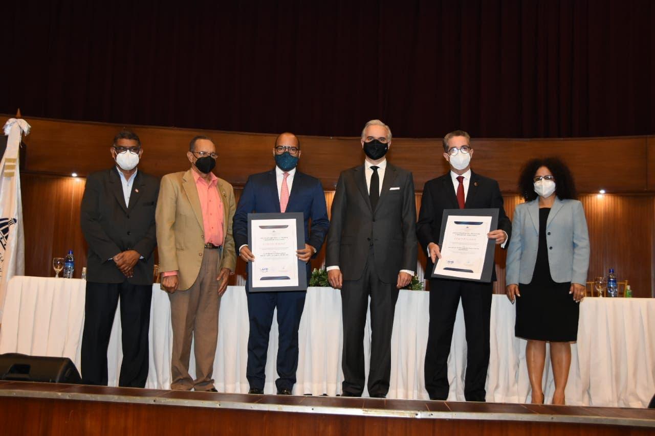 Ministro de Trabajo certificó 379 empresas en conmemoración del Día Mundial de la Seguridad