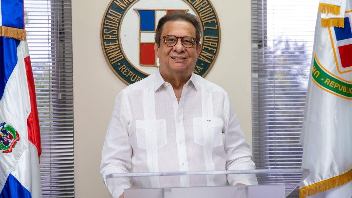 Miguel Fiallo Calderón es reelecto rector de la UNPHU