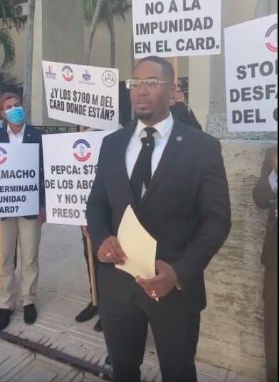 Abogados solicitan a la Pepca dar curso a querellas por corrupción contra Miguel Surún