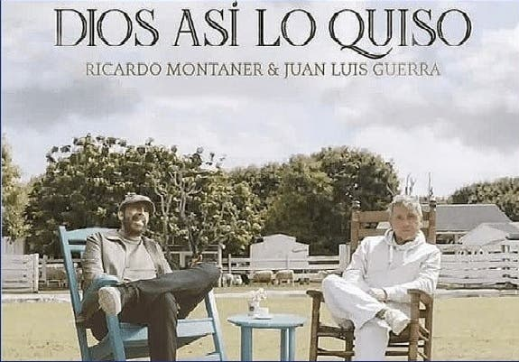 """Juan Luis Guerra y Ricardo Montaner unen sus voces con """"Dios así lo quiso"""""""