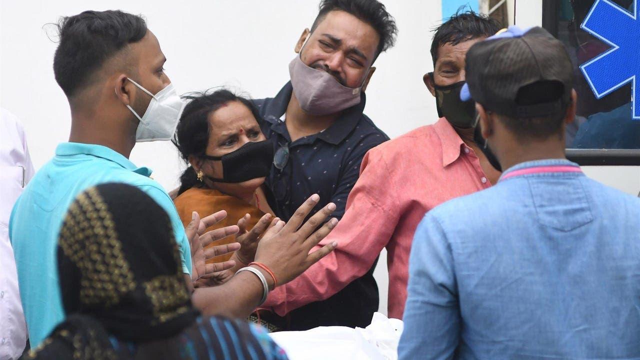 Mueren 22 pacientes de COVID en India al cortarse el suministro de oxígeno
