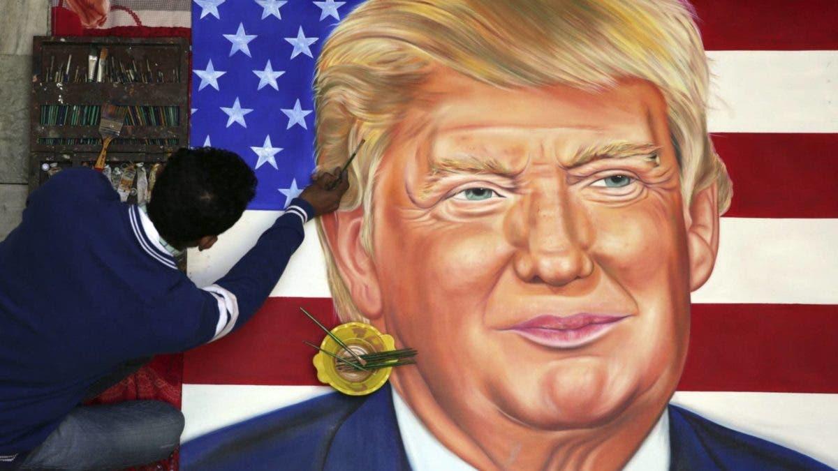 Las caricaturas de Trump se reivindican por primera vez como arte en un museo