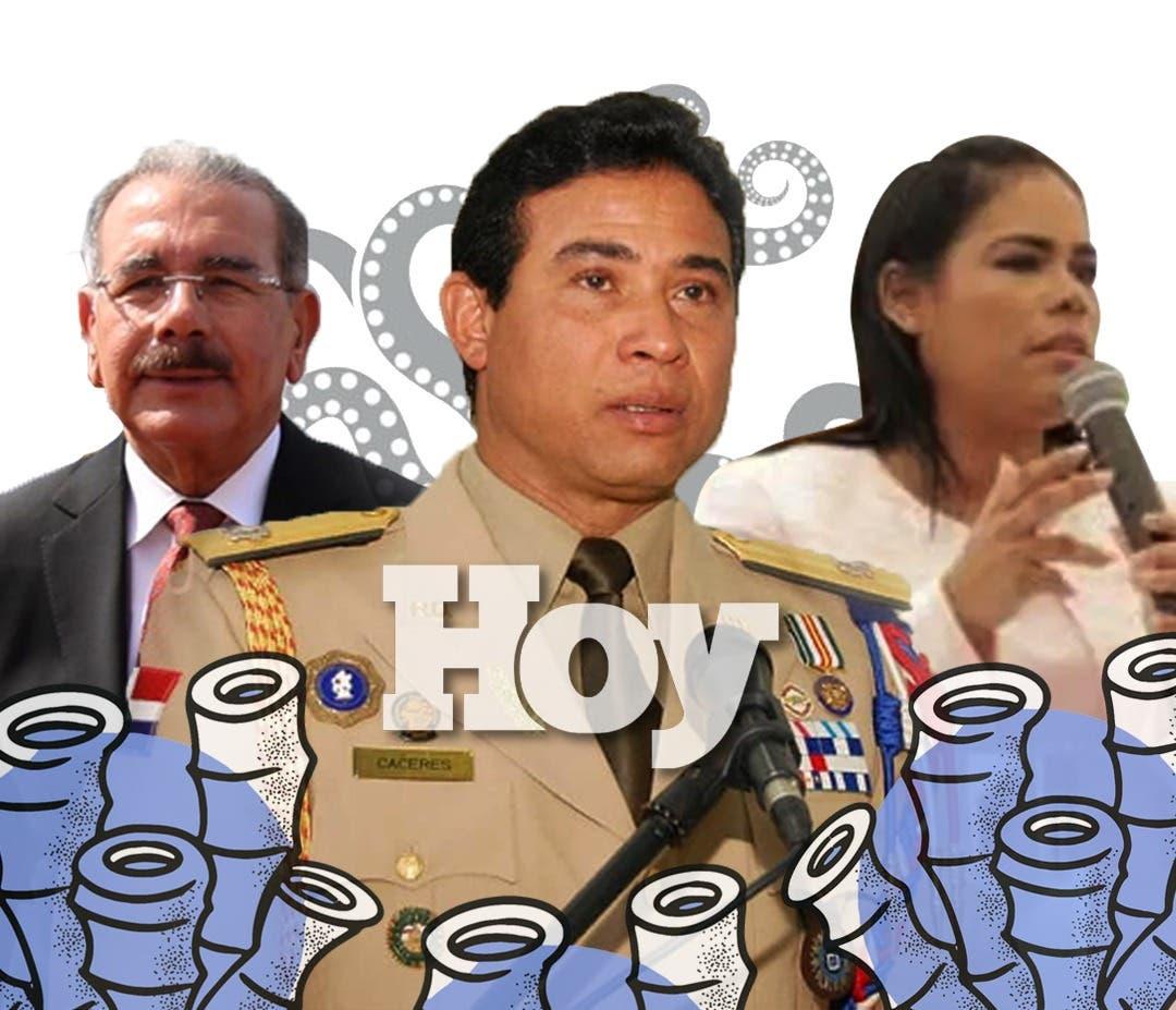 Operación Coral | Cómo el general Cáceres pasó de un salario de RD$35 mil a manejar cuantiosas sumas