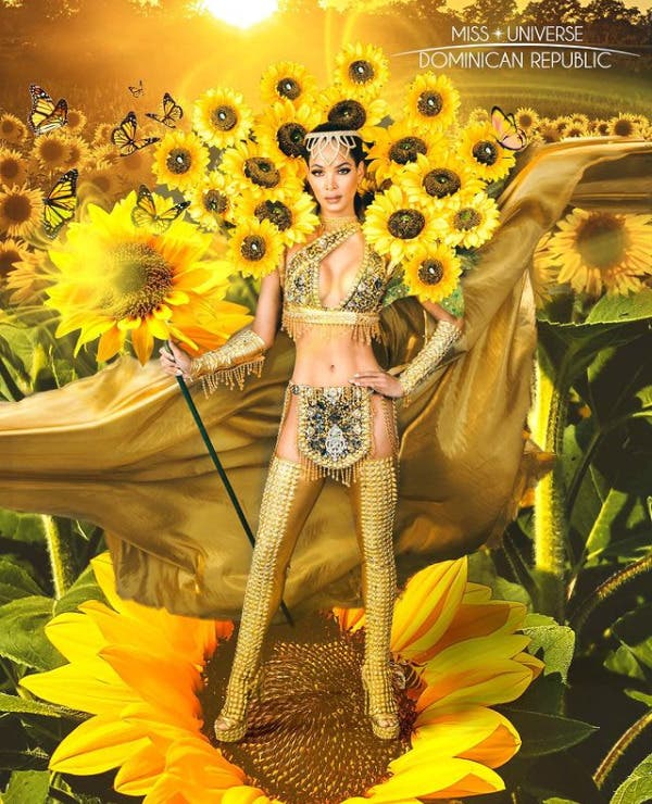 Muestran traje típico que usará Kimberly Jiménez en Miss Universo