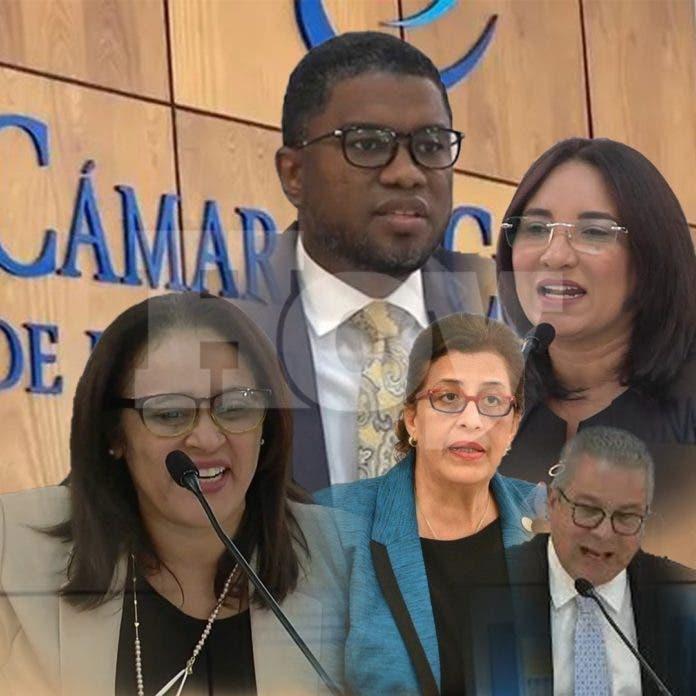 Nuevos miembros de la Cámara de Cuentas son juramentados