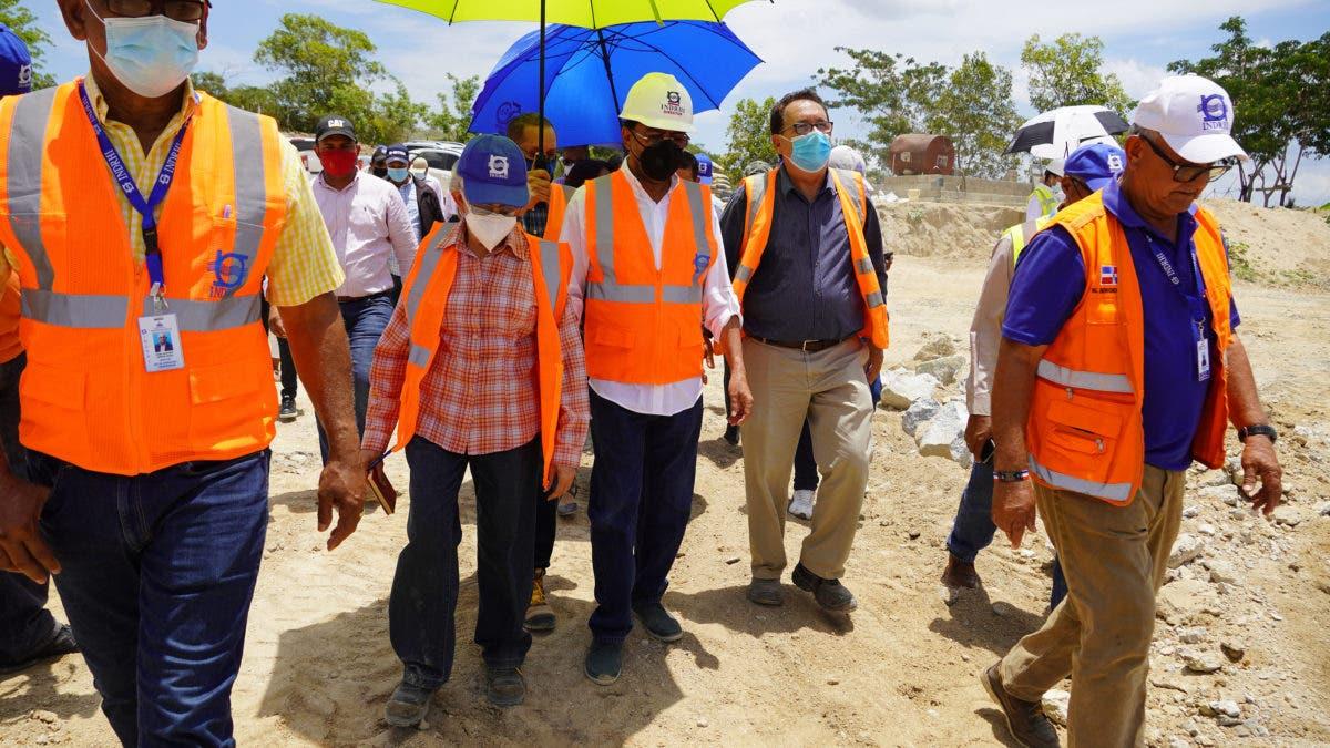 Informan trabajos de interconexión del canal Juan Calvo con presa La Piña estarán listos en agosto