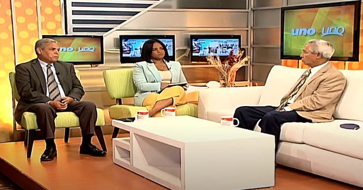 Entrevista a Isidoro Santana en el programa Uno + Uno