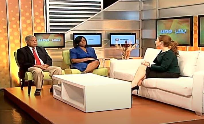 Entrevista a Gloria Reyes en el programa Uno + Uno