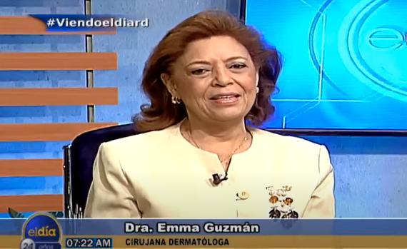 Entrevista a Emma Guzmán en el programa El Día