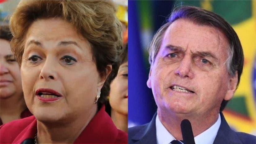 """Dilma Rousseff tacha de """"genocidio"""" la gestión de Bolsonaro frente a la covid"""
