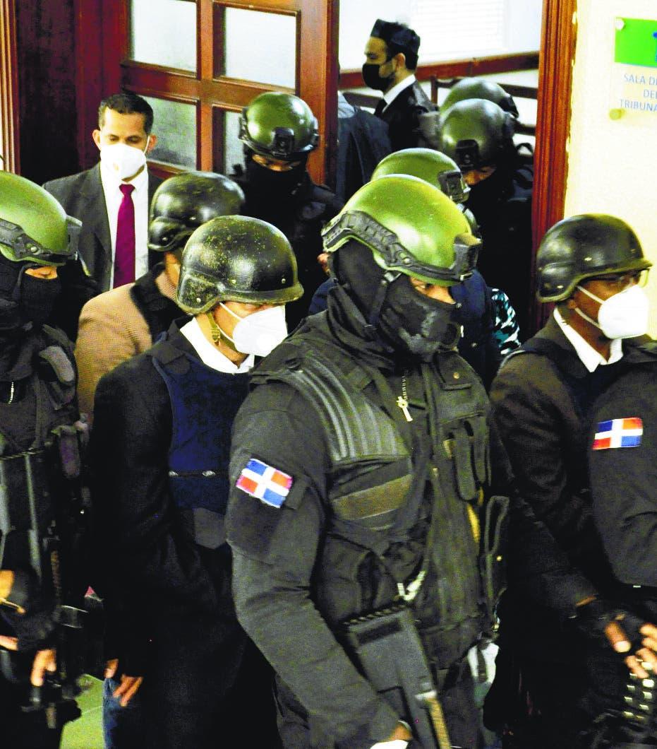 Adán Cáceres y otros cuatro de caso Coral enviados a cárcel de Najayo por 18 meses
