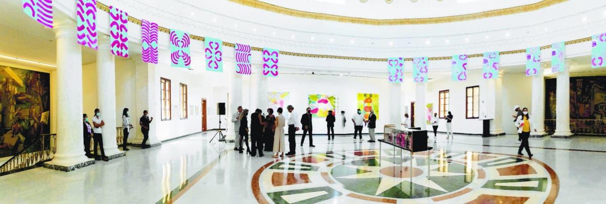En la Galería Nacional de Bellas Artes ¡Retorno esplendoroso de Alejandro Santana!