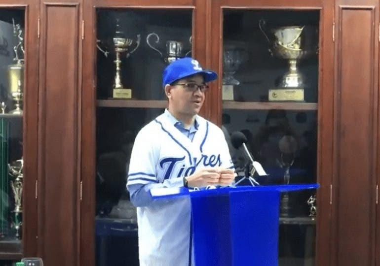 Tigres del Licey presenta su cuerpo técnico para temporada 2021-2022