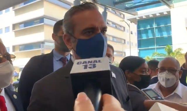 Presidente Abinader admite un rebrote de COVID-19 en el Gran Santo Domingo