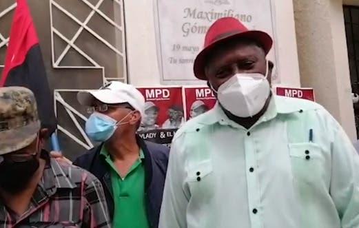 MPD acusa al Gobierno dominicano de ser entreguista a Estados Unidos