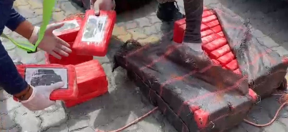 Incautan otros 299 paquetes de presunta cocaína en Puerto  Caucedo