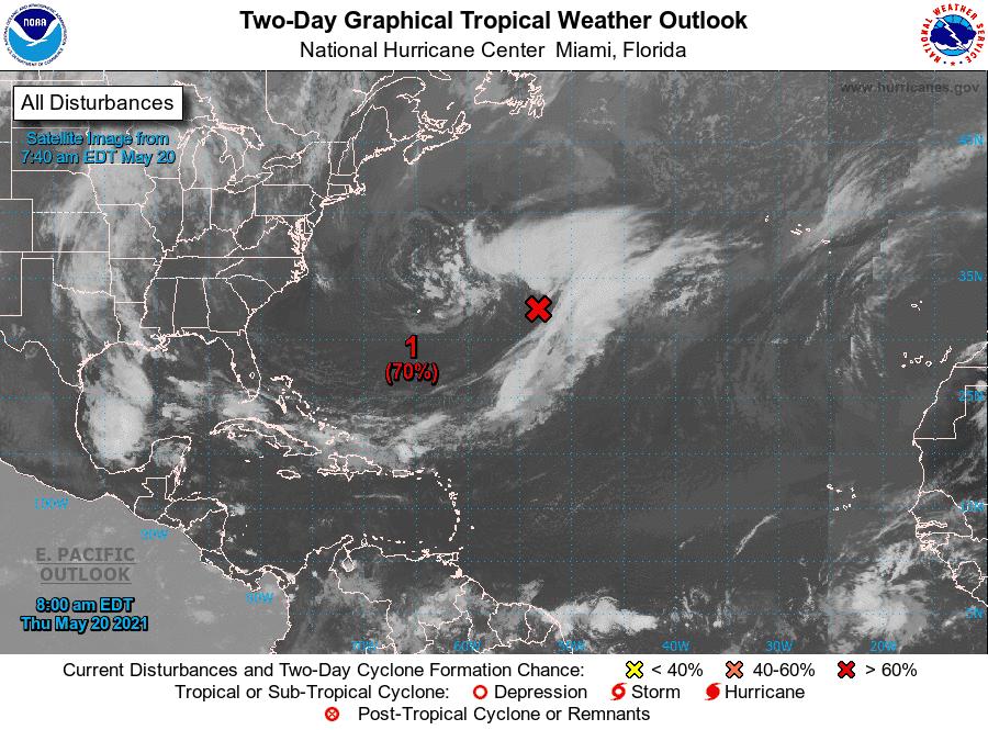 ¿Representa peligro para República Dominicana ciclón que se formaría este viernes?