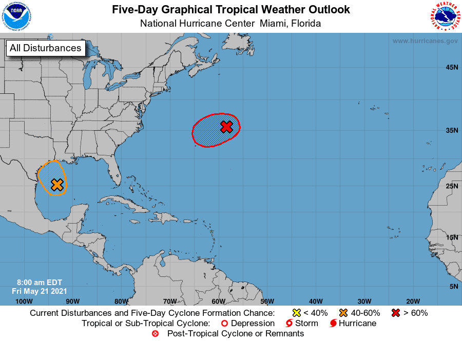 La primera tormenta del año, Ana, no representa peligro para RD