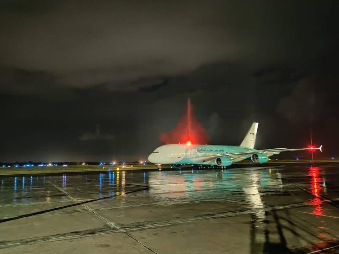 Vicepresidenta explica como provocaron fallo en iluminación pista de aterrizaje del AILA