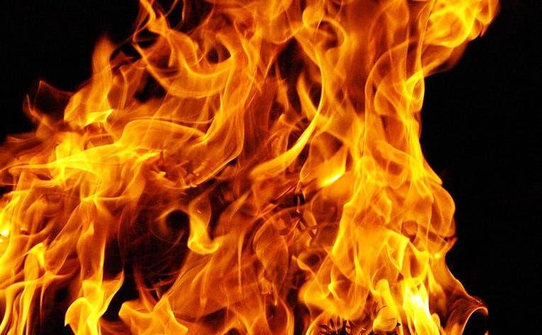 Incendio deja dos personas muertas en Villa Mercedes de San Cristóbal