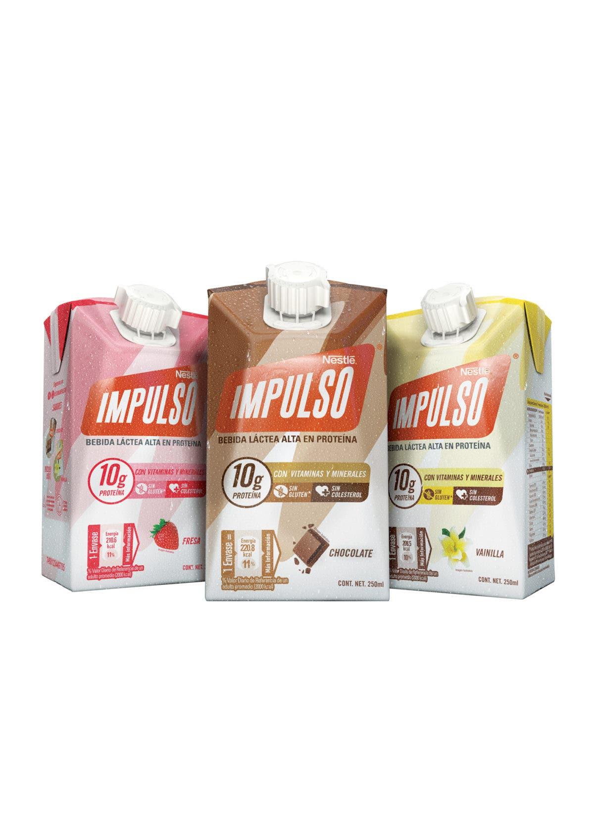 Nestlé Dominicana presenta nueva imagen y formato de Impulso