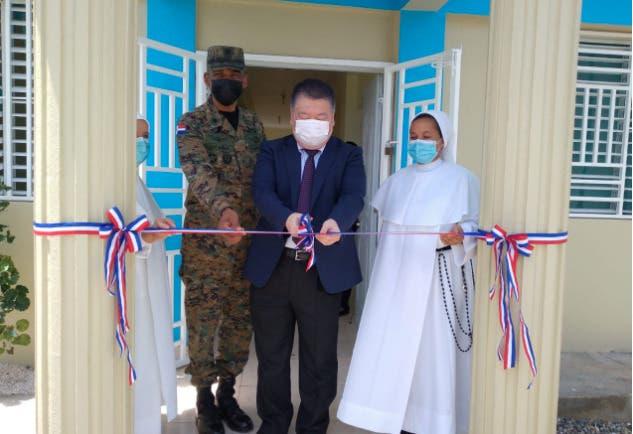 Inauguran centro de capacitación familiar donado por Japón en La Isabelita