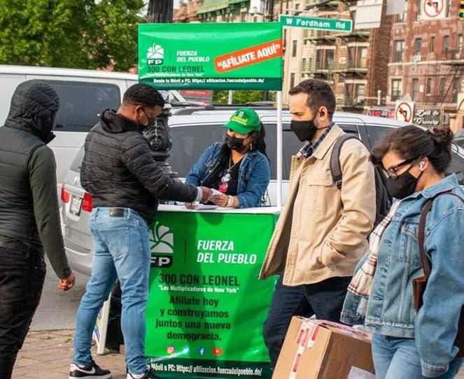 Inicia en NYC afiliaciones masivas hacia FP
