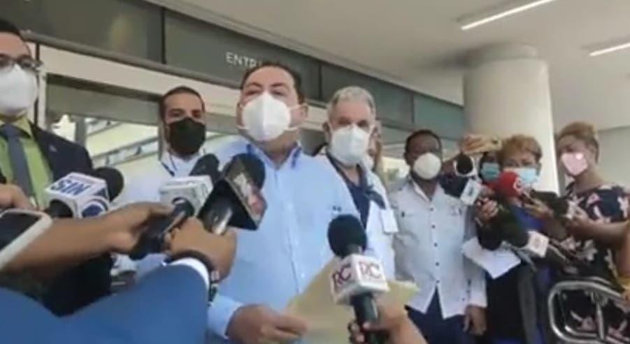 Al tope ocupación camas COVID en hospitales Francisco Moscoso Puello y Marcelino Vélez