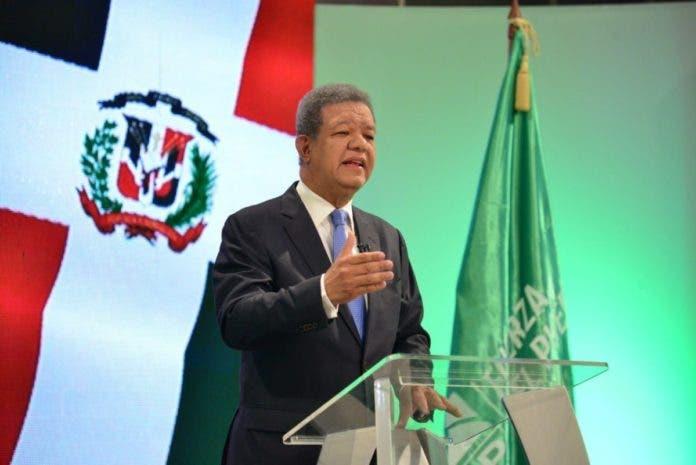 El presidente de la Fuerza del Pueblo, Leonel Fernández/ Fuente Externa