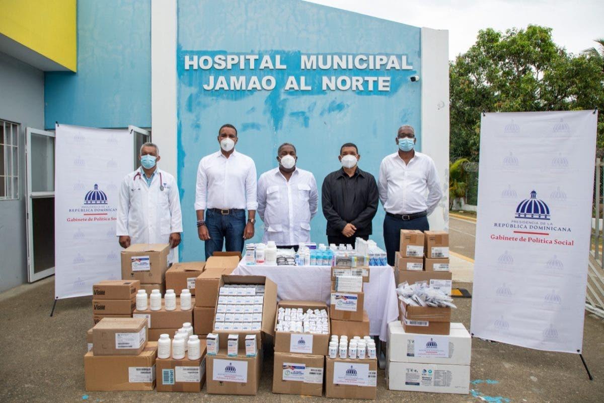 Hospitales de Puerto Plata y Espaillat reciben medicamentos