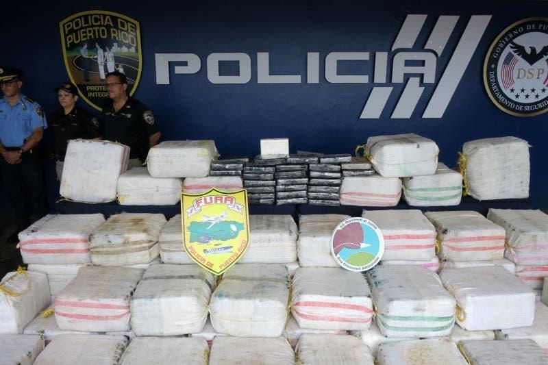 Detienen a tres dominicanos transportaban 275 kilos de cocaína a Puerto Rico
