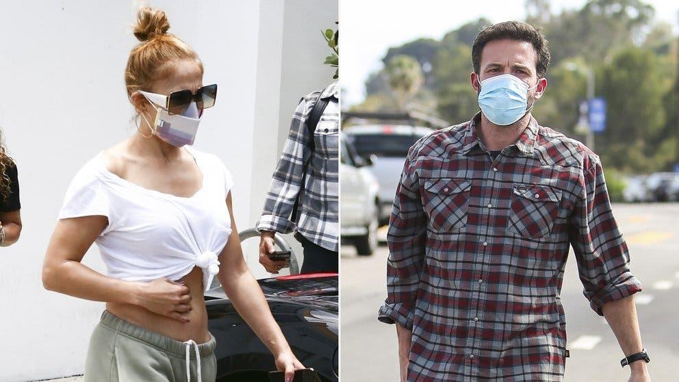 Jennifer López y Ben Affleck, inseparables: fueron vistos juntos en Miami