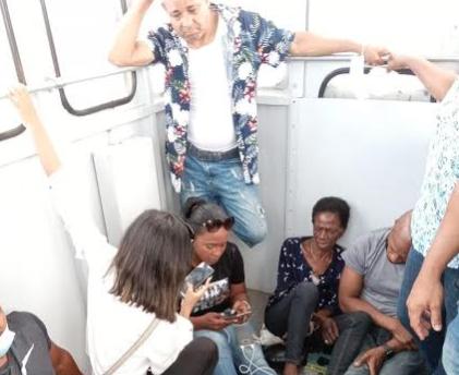 Desesperación y angustia arropa a 32 personas varadas en Teleférico de Puerto Plata