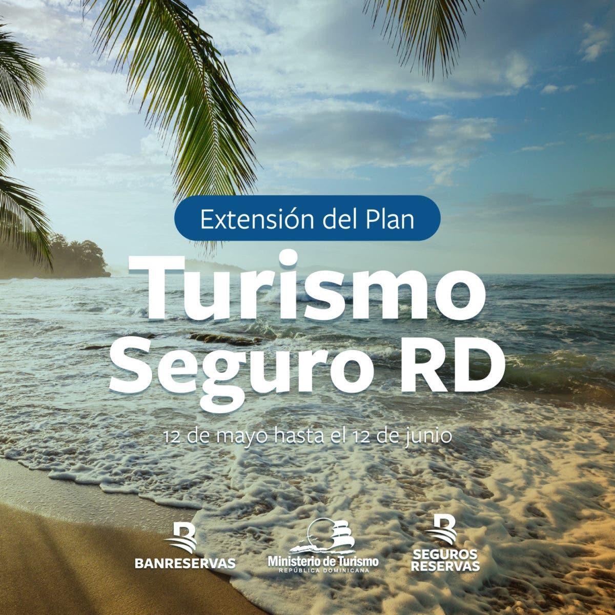 Continúa extensión del Plan Turismo Seguro RD