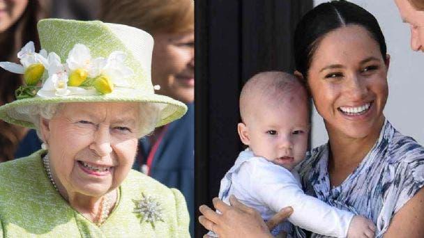 Isabel II felicita a su bisnieto Archie por su segundo cumpleaños