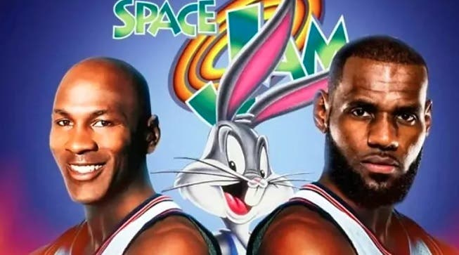Michael Jordan jugará junto a LeBron James… en 'Space Jam 2'