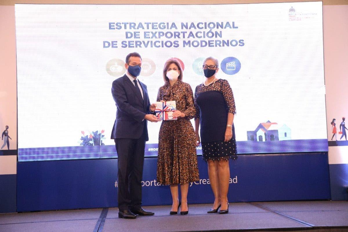 MICM presenta primera estrategia nacional para impulsar exportación de servicios modernos y economía creativa