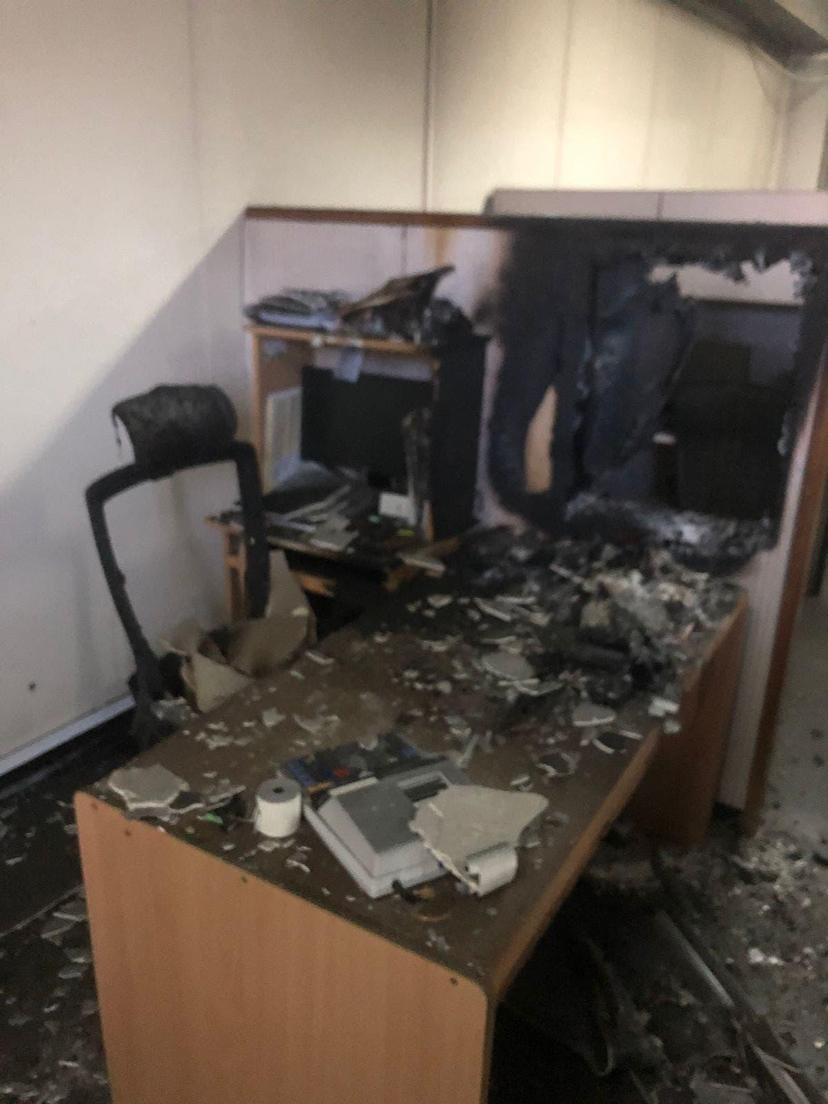 Se incendia área Financiera del Ministerio de la Mujer