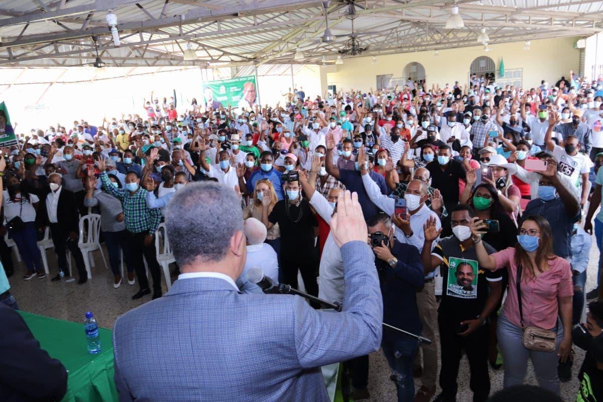 Leonel dice en futuro gobierno de FP habrá guerra sin cuartel contra narcotráfico y crimen organizado
