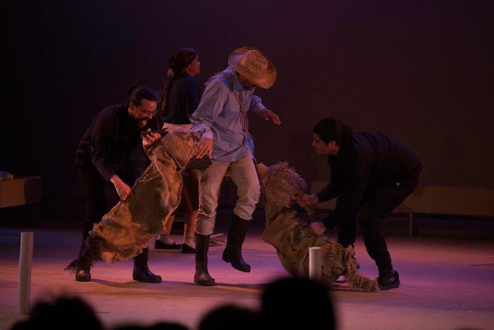 Vuelve a escena la obra «Rosa» en la Sala Manuel Rueda